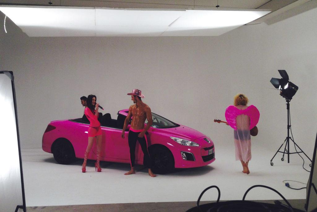 fotografare auto in studio brescia