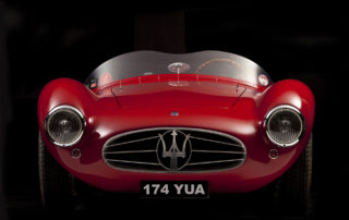 Maserati a6gcs fotografo auto epoca studio
